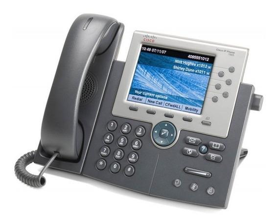 Teléfono Ip Cisco Cp-7965g Poe - Nuevo En Caja - Factura