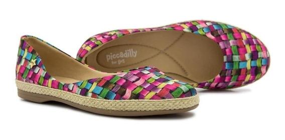 Sapatilha Infantil Piccadilly Multicolor 045001