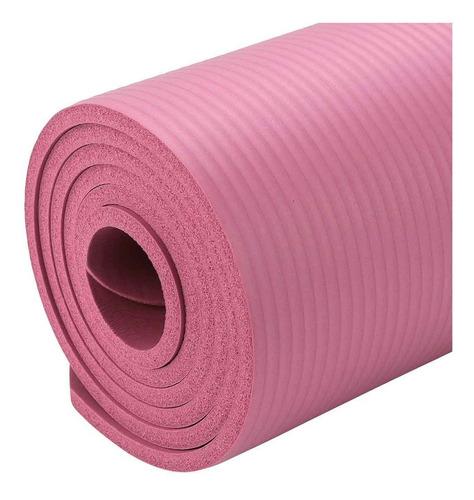 Imagen 1 de 5 de Colchoneta Yoga Gym 180 X 60 X 1 Cm. Pilates + Bolso