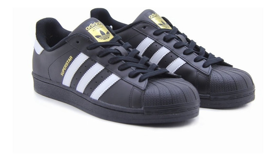 Tenis adidas Superstar Foundatio Concha Negro/blanco B27140