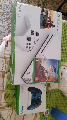 Xbox One S New, Control Midnight Forces Ii Y Forza Horizon 4