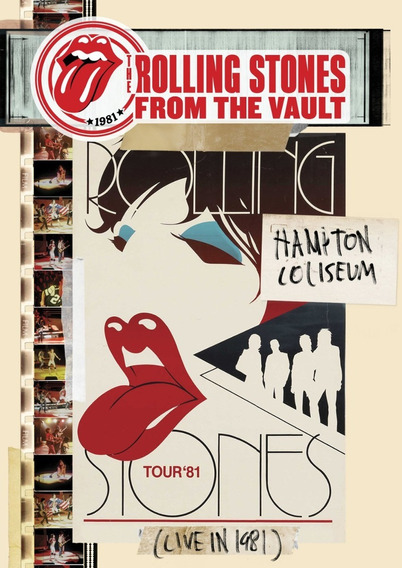 Rolling Stones The Hampton Coliseum Live In 1981 Dvd Nuevo