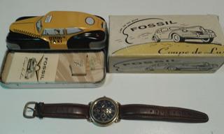 Reloj Fossil Tg 4004 1992 Original En Caja.