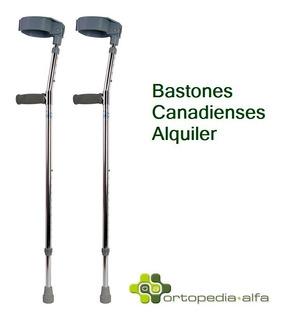 Bastones Canadienses Par Alquiler