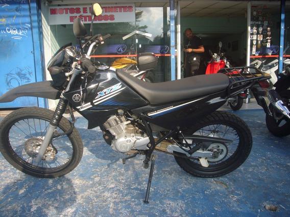 Yamaha Xtz 125 E Preta Ano 2008 R$ 5.500 Financia No Cartão