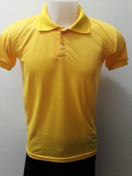 Kit Com 50 Camiseta , 100% Poliester, Gola Polo Colorida