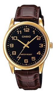 Reloj Casio Mujer Ltp-v001gl-1b Análogo Pulso Cuero