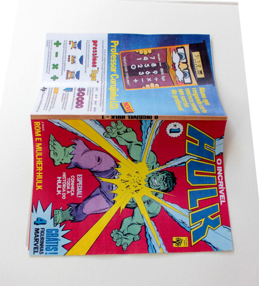 O Incrível Hulk # 1 Abril - 1983 - Hq Gibi - Revista Fac-sim