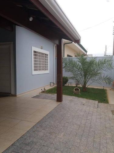 Casa Com 3 Dormitórios À Venda, 130 M² Por R$ 570.000,00 - Residencial Terras Do Barão - Campinas/sp - Ca13010