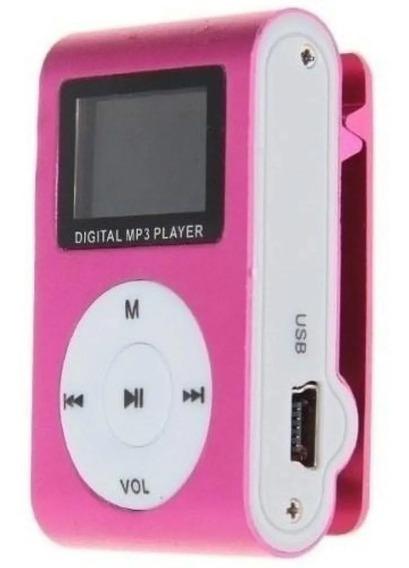 Promoção Baratissimo Mini Mp3 Player Clip Usb Fone Completo