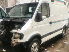 Renault Master 2.5 Furgon Alto No Chocada Con Faltantes