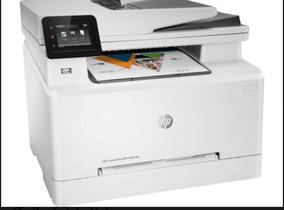 Impressora Hp Laserjet M281fdw Color 4em1 Promoção 110v