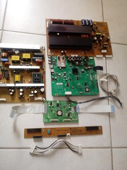 Placa Principal E Fonte E Tcom Tv Lg Modelo Pdp42t30030