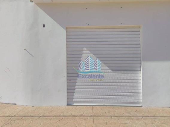 Salão Para Alugar, 60 M² Por R$ 1.100/mês - Jardim Das Figueiras I - Hortolândia/sp - Sl0120