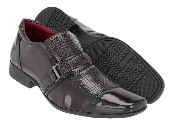 Sapato Social Masculino Em Verniz Ref:1151