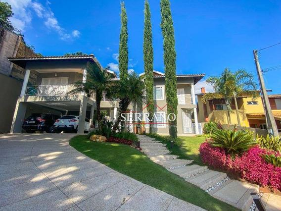 Casa Com 5 Dormitórios À Venda, 420 M² Por R$ 2.100.000,00 - Condomínio Alpes De Vinhedo - Vinhedo/sp - Ca0667