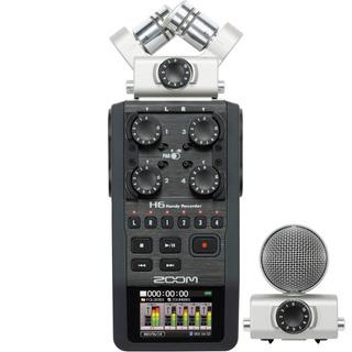 Zoom H6 Grabador Digital Portatil De 6 Canales Usb Sd