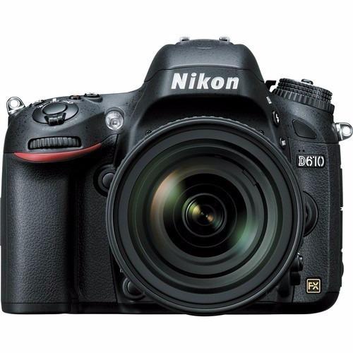 Nikon Dslr D610 24.3mp Kit 24-85mm Vr- P/ Entrega
