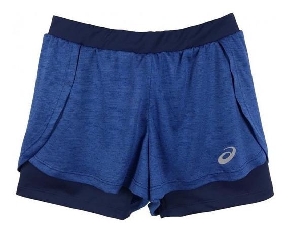 Shorts Asics W Running Blend Shorts 2n1 - Deep Sapphire
