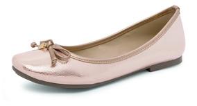 Zapato Casual Para Mujer Oro Detalle Decorativo