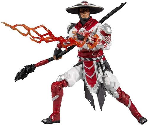 Mcfarlane Toys Mortal Kombat Raiden Bloody White Hot Fury