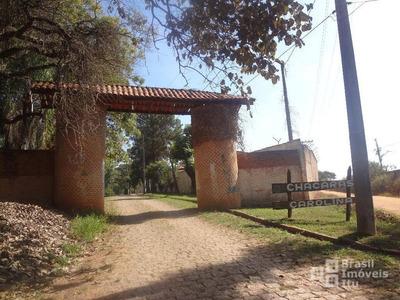 Chácara Residencial À Venda, Condomínio Chácaras Carolina, Itu. - Ch0088