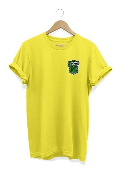 Camiseta Masculina Harry Potter Sonserina