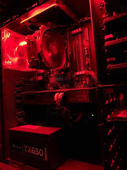 Pc Gamer Six Core / Nvidia Gtx-660ti Sc