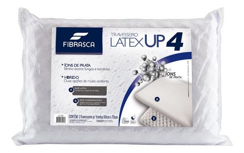 Travesseiro Da Nasa Original Up4 Latex+espuma 50x70x14cm