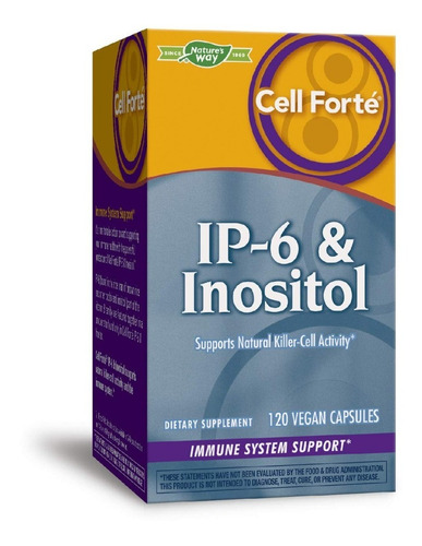 Natures Way Cell Forte Ip-6&inositol Sist Inmunologico