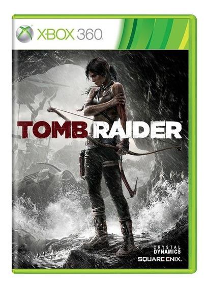 Tomb Raider 2013 Xbox 360 Original Mídia Física Em Português