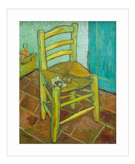 Lamina Fine Art La Silla Van Gogh 50x60 Myc