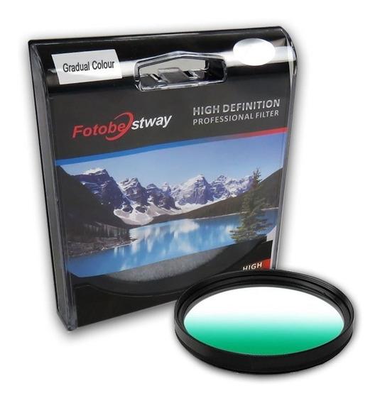 Filtro Gradual Verde 52mm Fotobestway