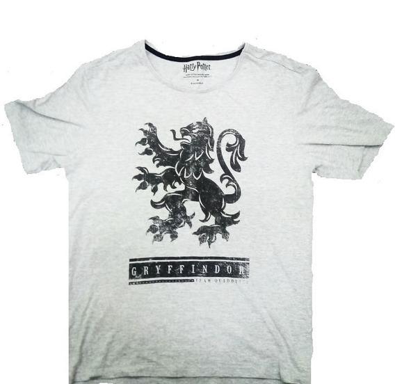 Camiseta Harry Potter Grifinória Gryffindor - Tamanho M