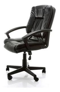 Cadeira De Escritório Mid Task Preta - Frete Grátis