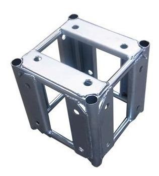 Cubo A20 5 Faces Para Treliça Q20 P/ Montagem Estruturais