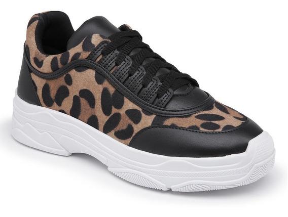 Tênis Feminino Plataforma Sneaker Moda Chunky Estilo Casual