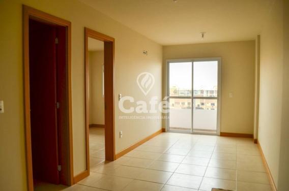 Apartamento Novo De 1 Dormitório , Sacada Com Churrasqueira E Garagem. - 2449