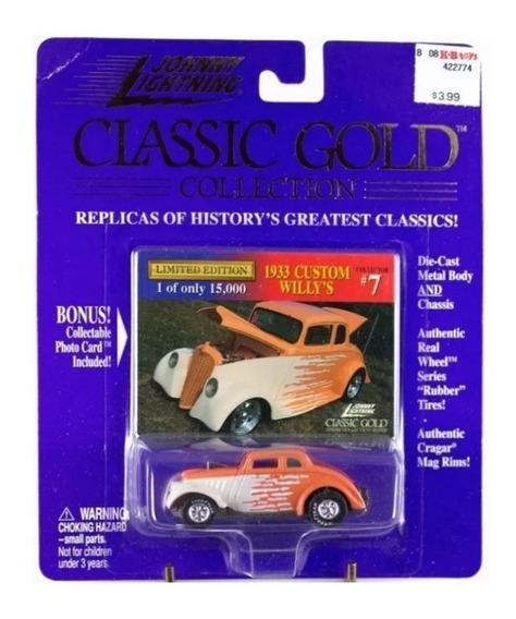 Johnny Lightning 1933 Custom Willys Ruedas Goma Solo Envios