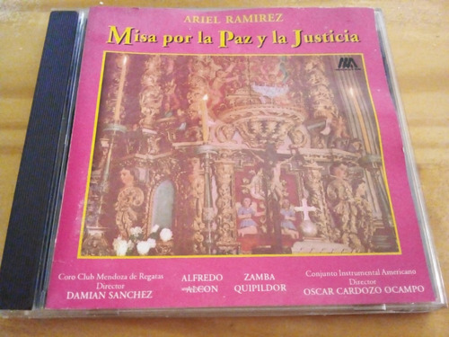 Misa Por La Paz Y La Justicia - Ramírez - Sony 1992 - Cd - U