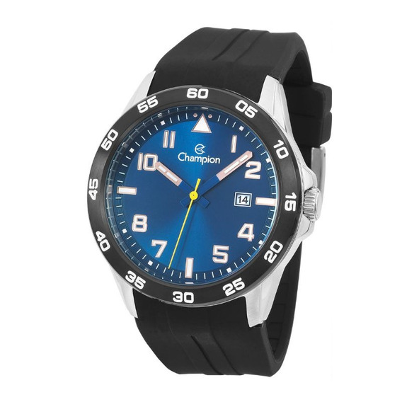 Relógio Masculino Champion Analógico Ca31631a Mostrador Azul