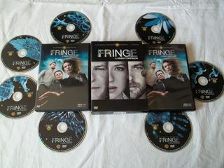 Box Dvd - Fringe - A Grande Conspiração - Primeira Temporada