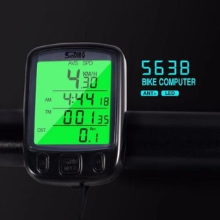 Velocímetro Bike Digital Speed Mtb Luz Noturna Sunding 563-b
