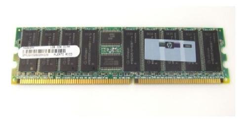 Imagem 1 de 1 de Memória Hp 1gb Ddr Ecc Pc2100r 266mhz  A6969ax