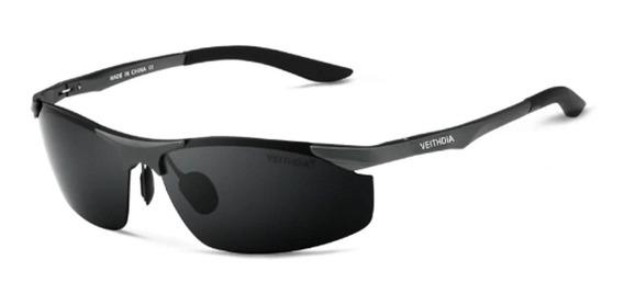 Óculos De Sol Polarizado Uv400 Veithdia Mod6529 Pta Entrega