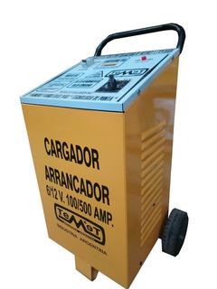 Cargador De Baterías C/arrancador 6/12v 100/500 Amp.