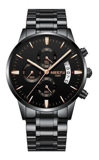 Relógio Nibosi Inox Masculino