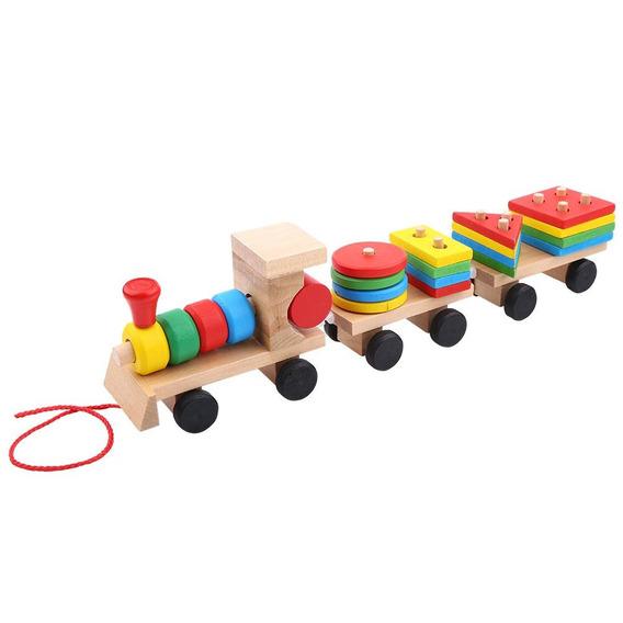 Bebé Niños Juguetes De Desarrollo Temprano Tren Camión Forma