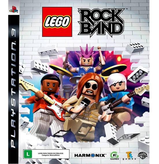 Jogo Lego Rockband Ps3 M. Fisica