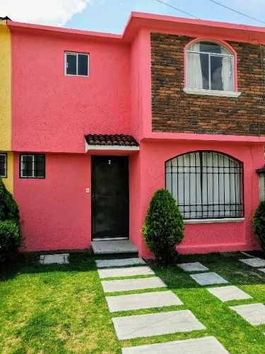 Casa En Renta Toluca En Privada Arboledas Iii